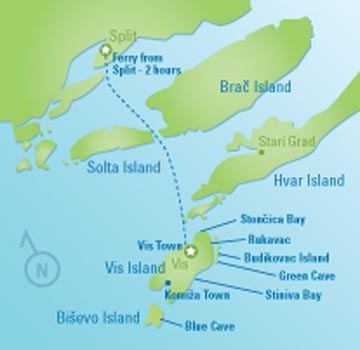 Vis Island Tour map resized 600