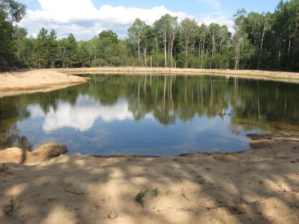 Pond Liner Help Michigan Install Grayling Michigan