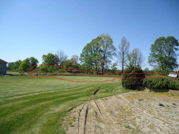 Landscaping Pond Banks : Flushing michigan pond berm banks repair resized