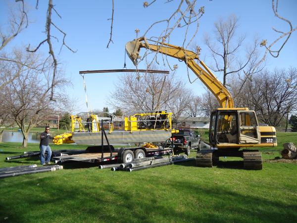 Michigan dredging services Dredge Companies Michigan aspirating dredge