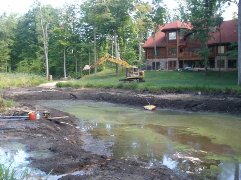 Northville Mi Pond Digging