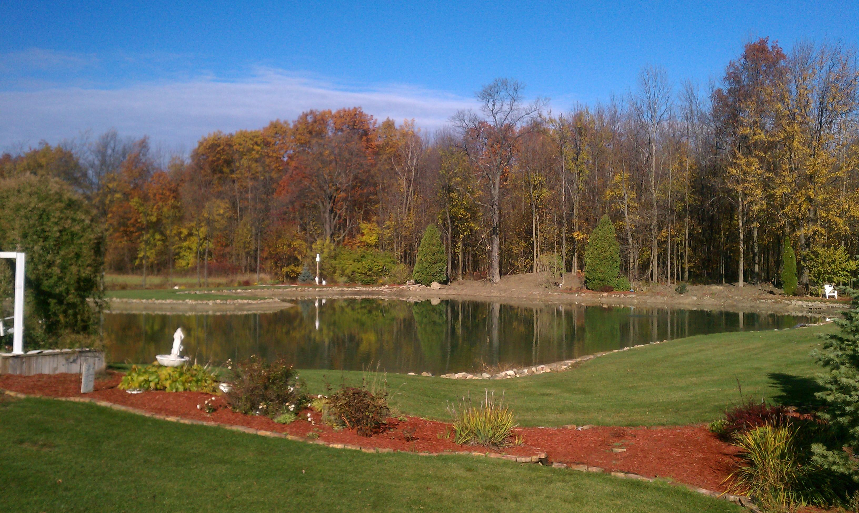 pond digging Lansing, Michigan Lansing pond