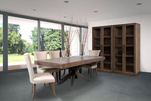 La table en bois massif: indémodable!