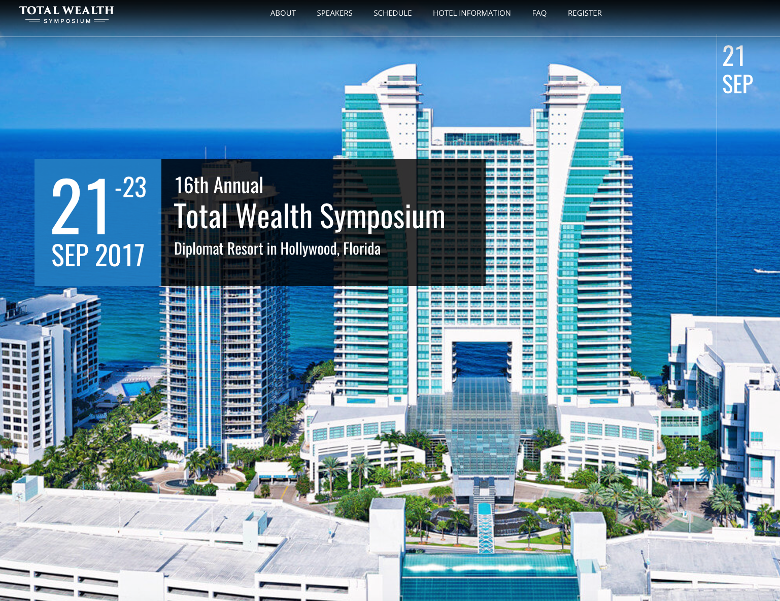 The Total Wealth Symposium 2017