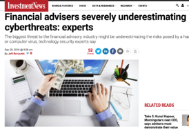 Financial Advisers cyber risk