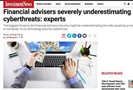 Financial Advisers cyber risk