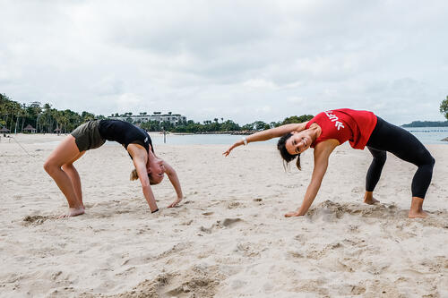 3 Simple Workouts You Can Do At The Beach
