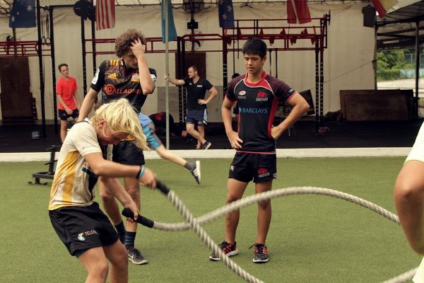 This 13-year-old gained focus and discipline through rugby training