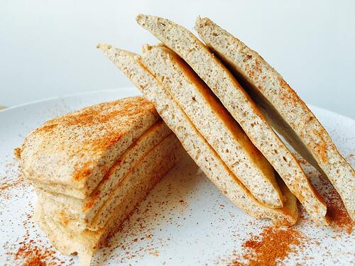 Lemon Chia Pancakes | UFIT Kitchen - Recipes