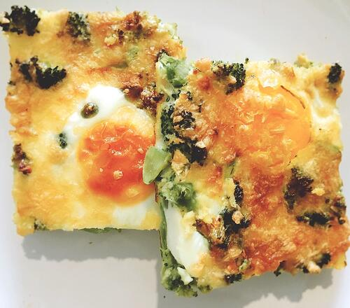 Broccoli Frittata | UFIT Kitchen