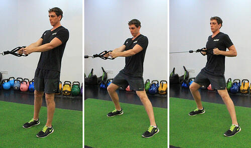 UFIT Movement of The Month: Lateral Lunge and Cable Row.