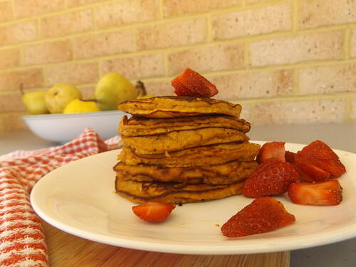 Recipe: Sweet Potato Pancakes {Paleo; Gluten Free; Dairy Free}
