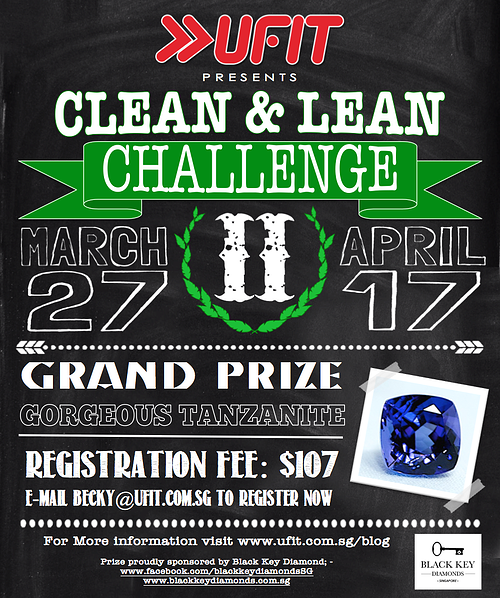 Clean & Lean Challenge is BACK!! - Blog #1. (14th March, 2014)