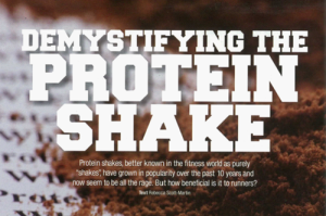 Dymystifying The Protein Shake.
