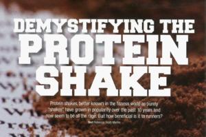 Dymystifying The Protein Shake.