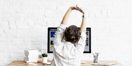 5 tips to stay fit at work