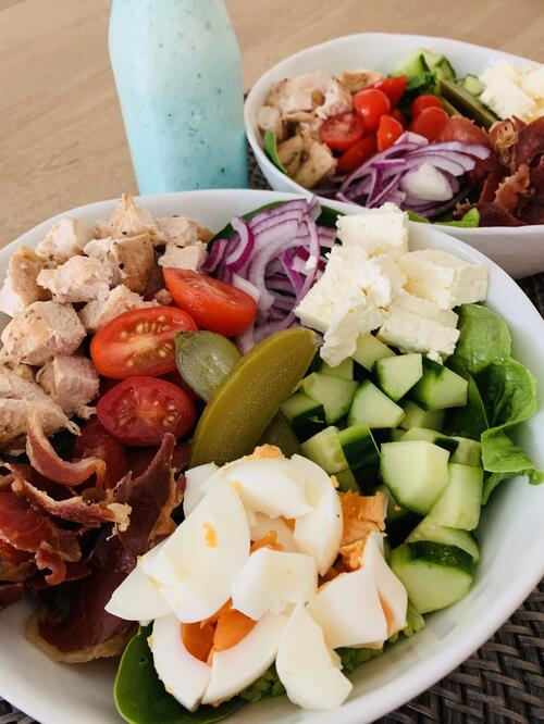 UFIT Recipes: Ploughman's Lunch with Creamy Ranch Dressing