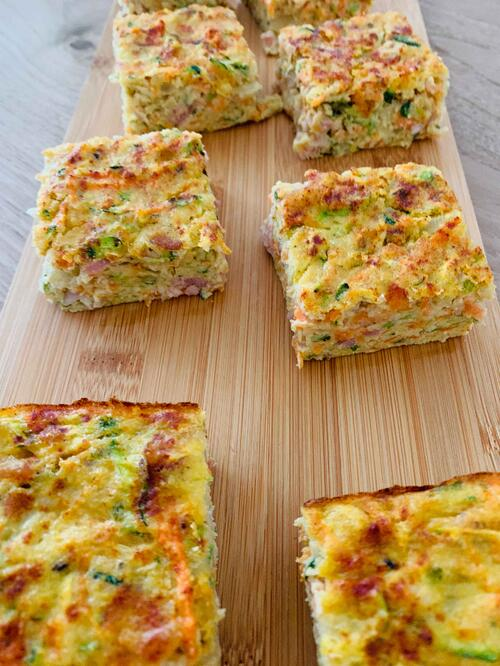 UFIT Recipes: Zucchini and Carrot Slice