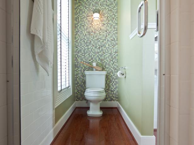 3 diy bathroom accent wall ideas for Accent wall in bathroom ideas