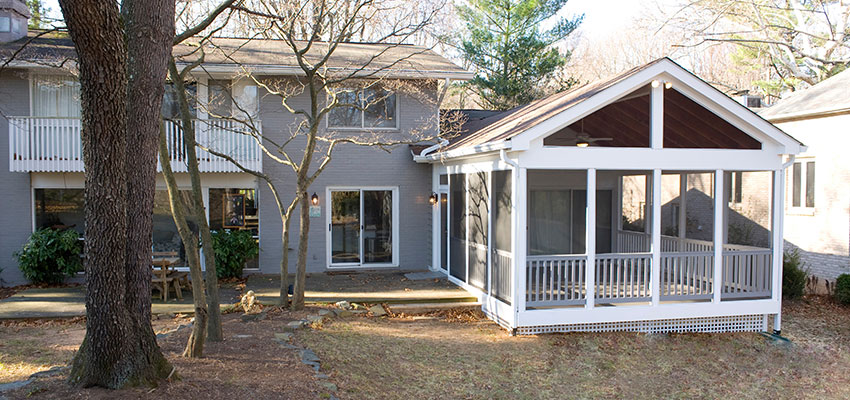 Considerations For Building A Screened Porch On An