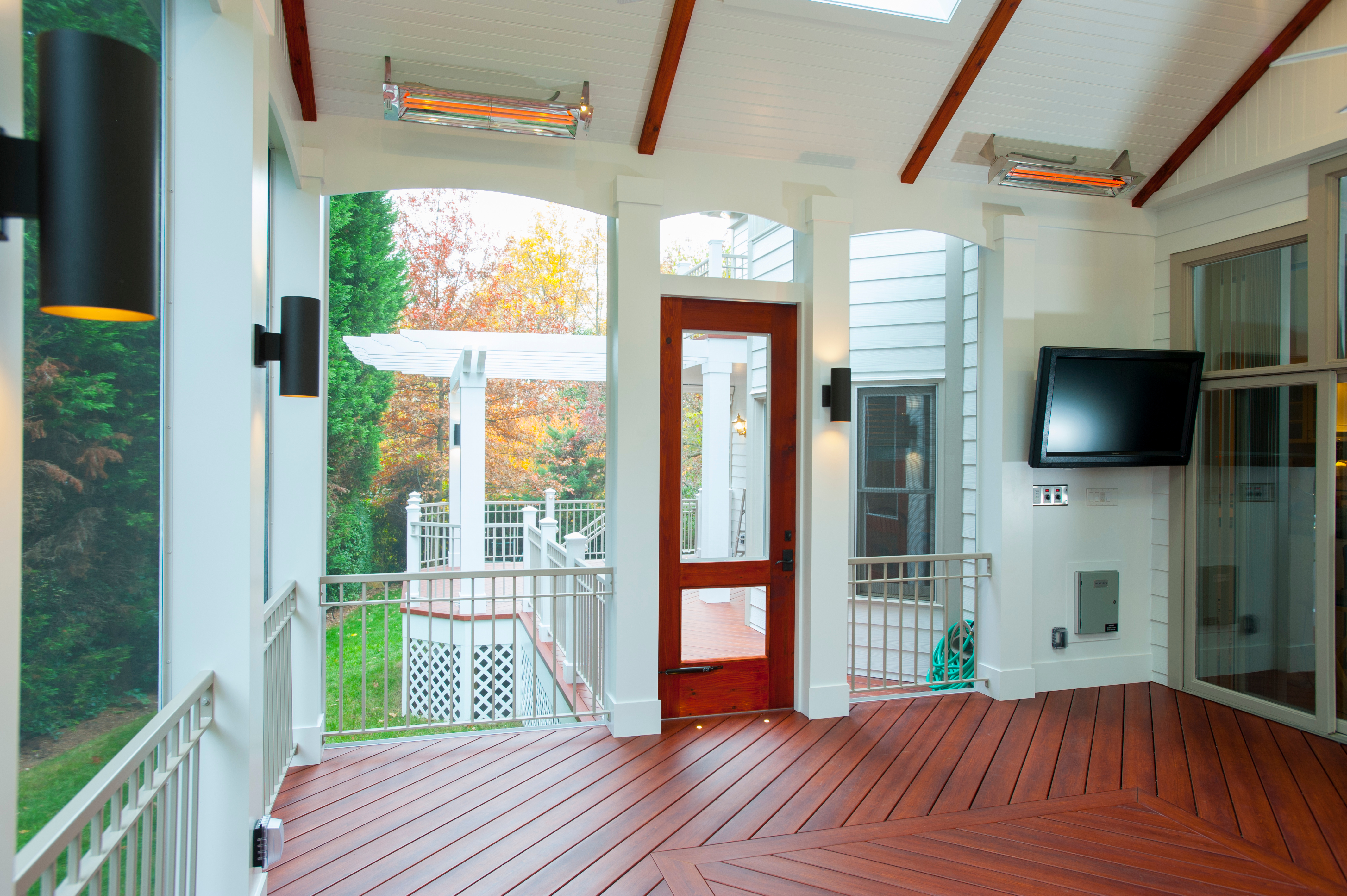 What is the cost of installing a tv in a screened in porch for Porches login