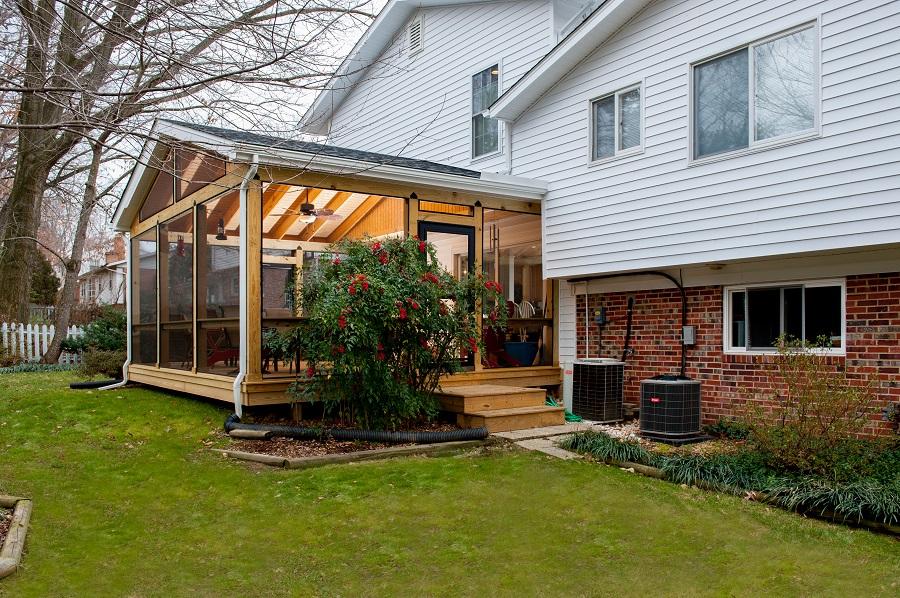 Professional Screen Porch Contractor In Fairfax Va With