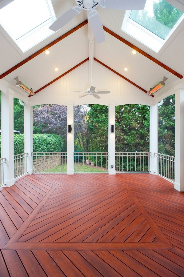 Credible screen porch builder in potomac md and special for Porches login