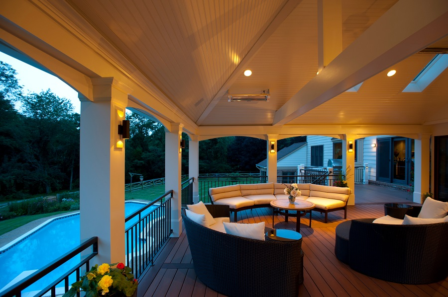 Great screen porch contractor in vienna va with azek pvc pool decking azek screened porch contractor in vienna virginia screened porch vienna virginia sconce lighting inlays aloadofball Images