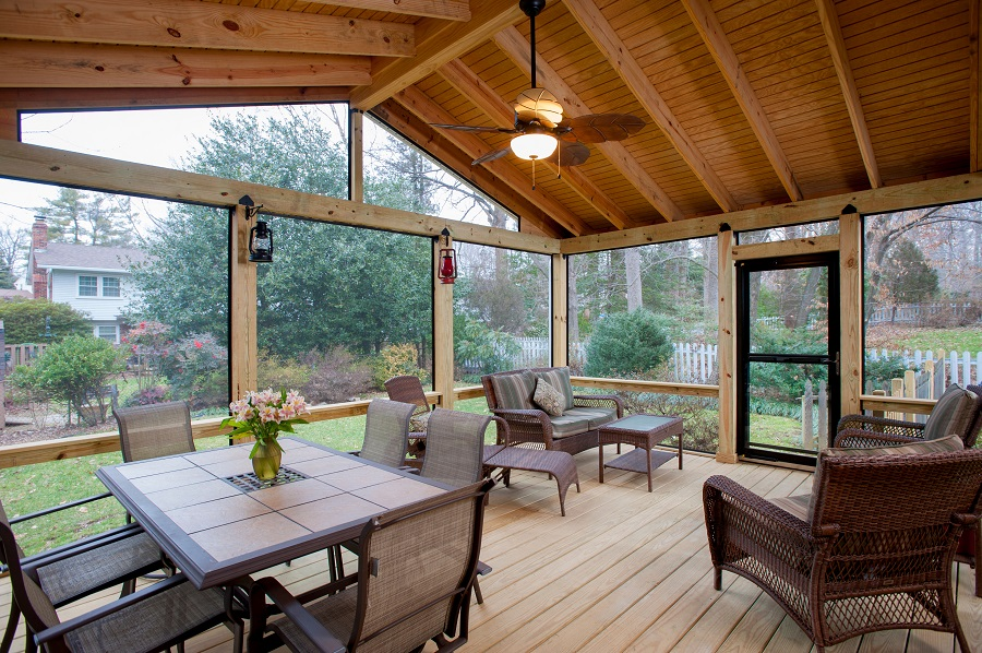 How Much Does A Screen Porch Design Cost