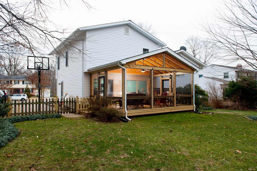 Screen Porch Additions : Professional screen porch contractor in fairfax va with
