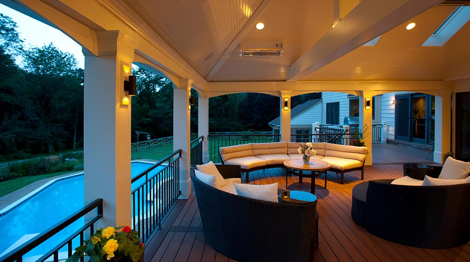 screened porch Bowie, MD Zuri decking