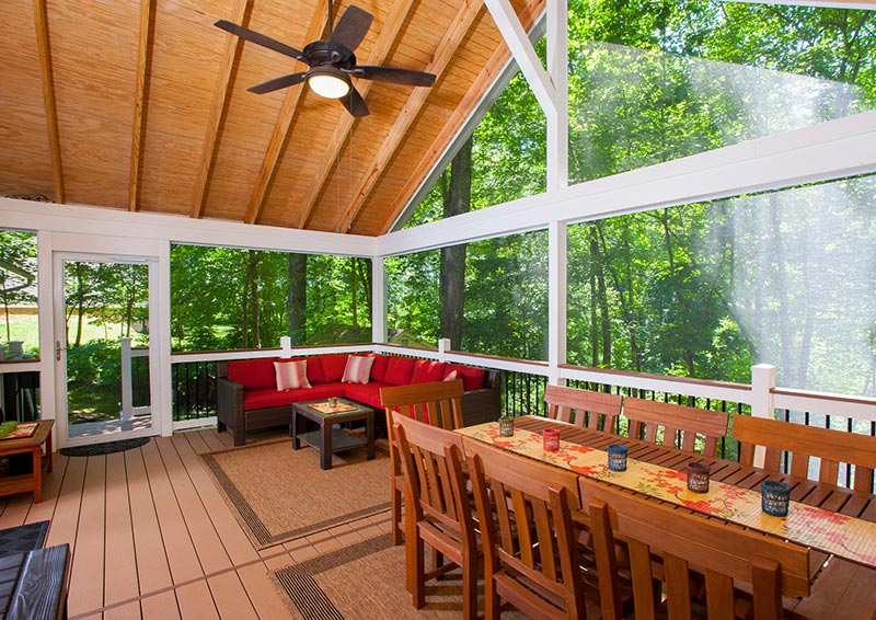 How To Stop Bugs From Coming Through Deck Floorboards In A