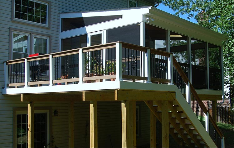 How Much Does A Pressure Treated Screened In Porch Cost