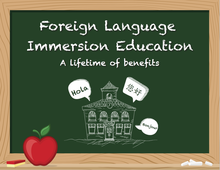 Infographic: Foreign Language Immersion Education