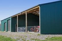 Secure workshop shed
