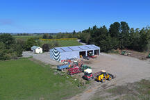Contractor workshop shed NZ