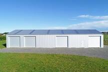 Fully lockable workshop shed