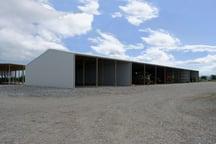 Zincalume implement shed
