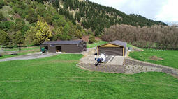 Helicopter shed NZ