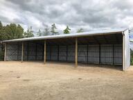 Steel rafter shed NZ