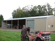Implement storage shed