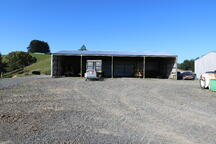Clearspan implement sheds
