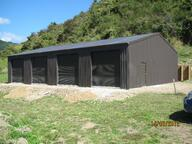 Lockup shed in New Zealand