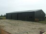 This 12m lockup shed even has windows