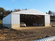 Bulk storage shed New Zealand