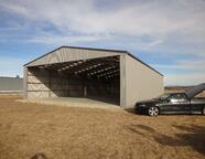 Hangar fit for a helicopter