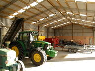 Implement shed with lots of storage NZ