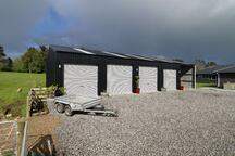 Open bay life style shed nz