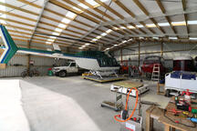 hanger for a helicopter New Zealand