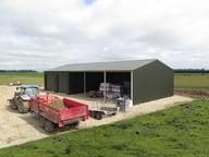 Farm storage sheds in New Zealand